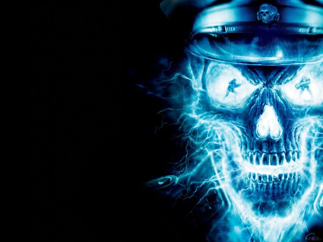 download background 3d skull wallpaper: desktop hd wallpaper