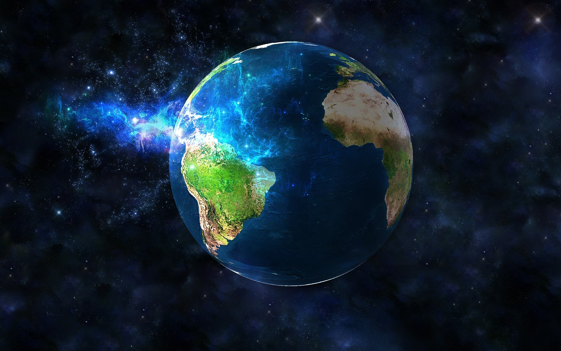 Background 3D Earth Wallpaper