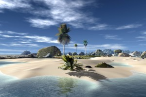 Download Download Beach Nature Background 3d Wallpaper Free Wallpaper on dailyhdwallpaper.com