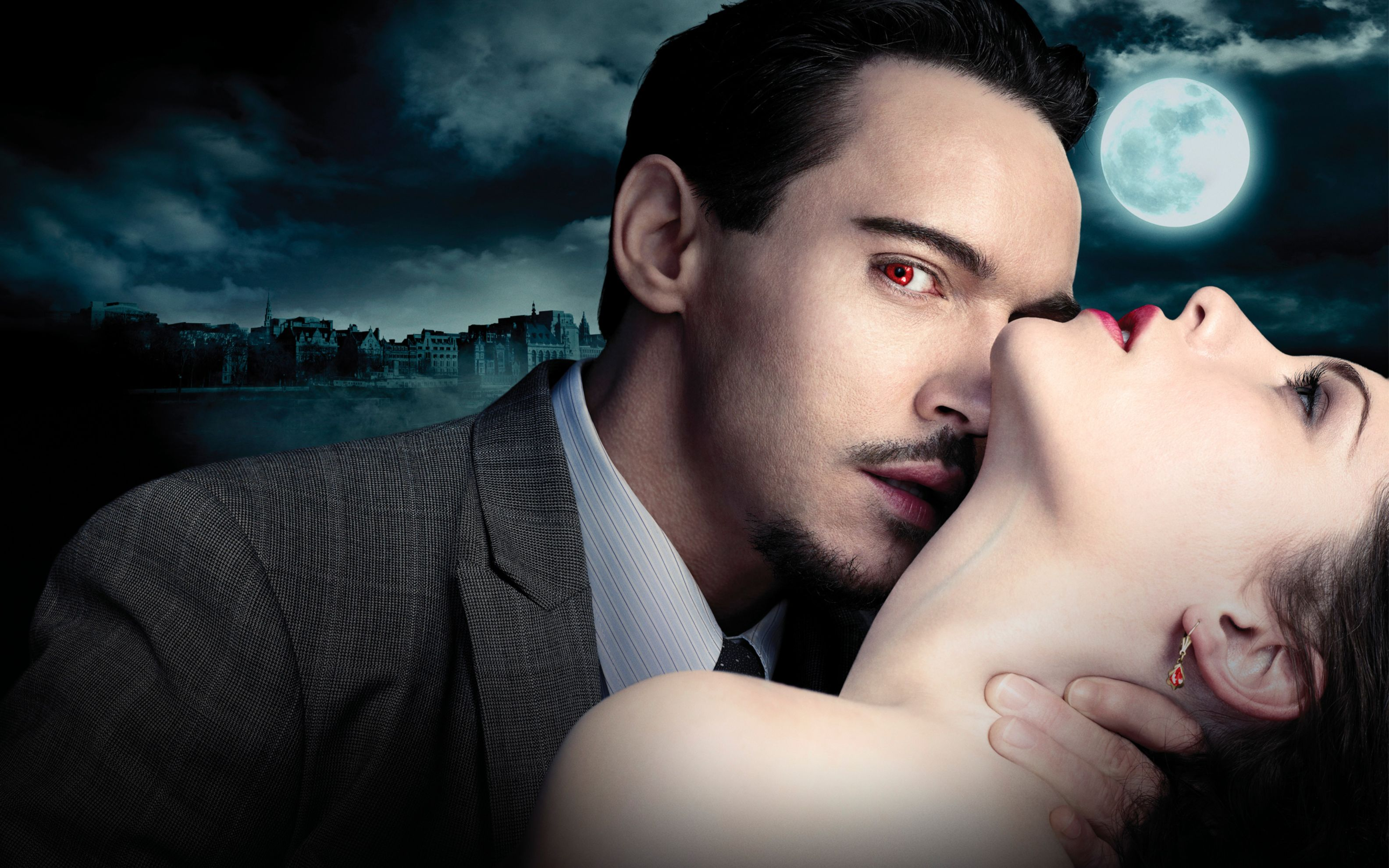 Download free HD Dracula Nbc Series Wide Wallpaper, image