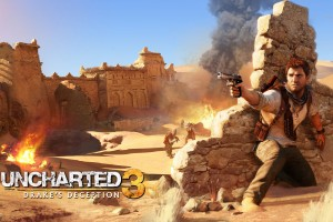 Drake in Uncharted 3 HD Wallpaper