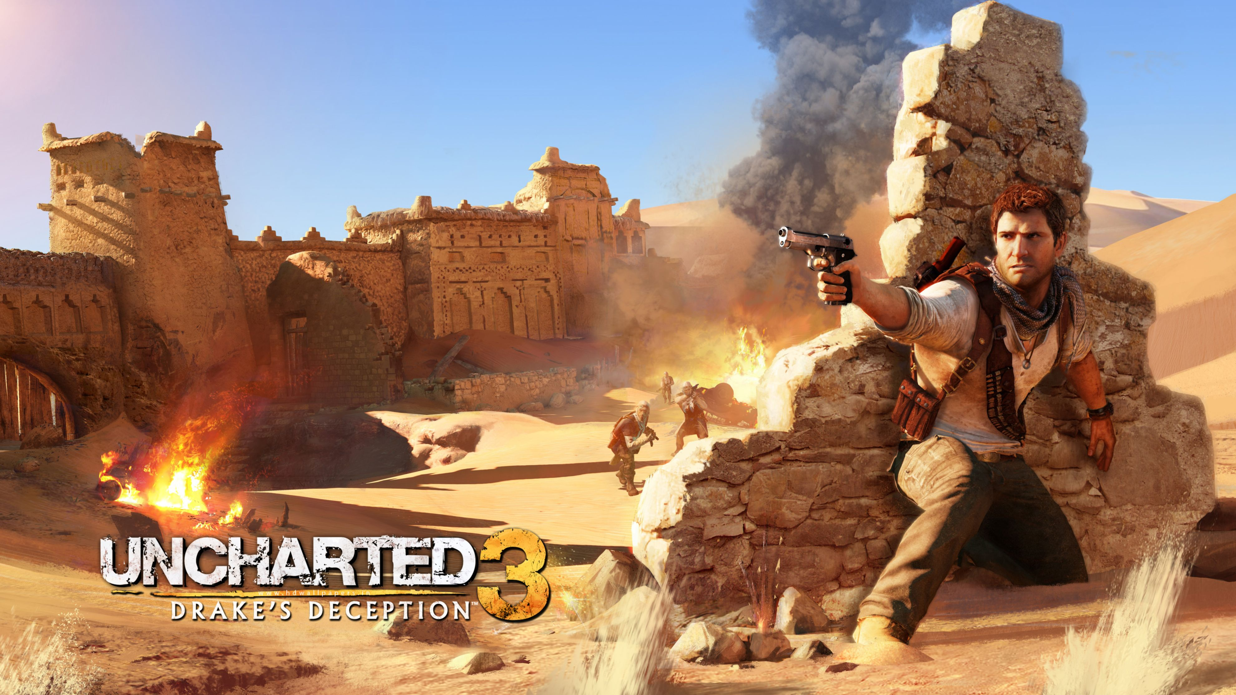 Download free HD Drake in Uncharted 3 HD Wallpaper, image