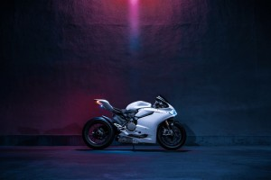 Ducati 1199 Panigale S Bike Wide Wallpaper