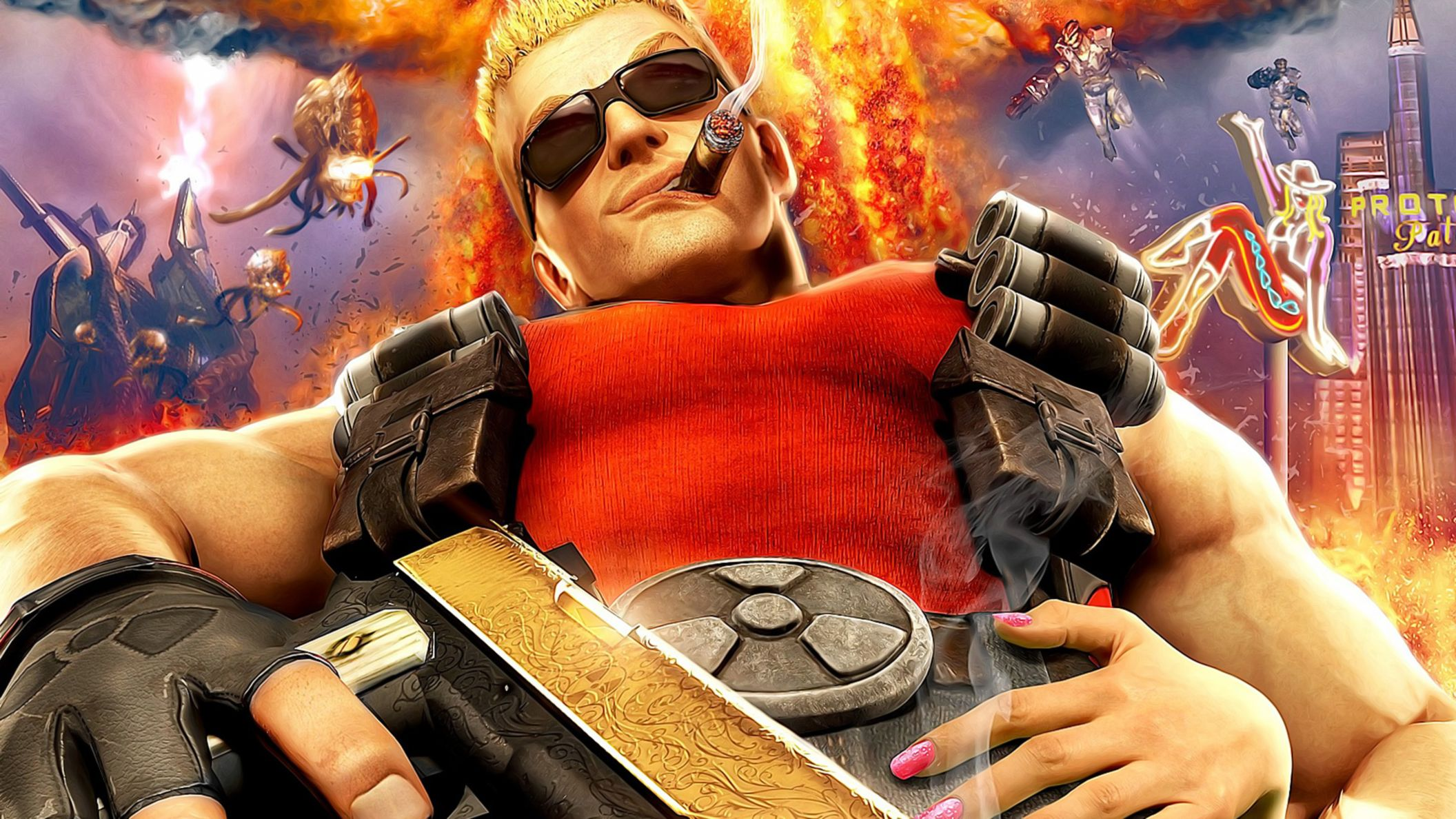 Download free HD Duke Nukem Forever HD Wallpaper, image