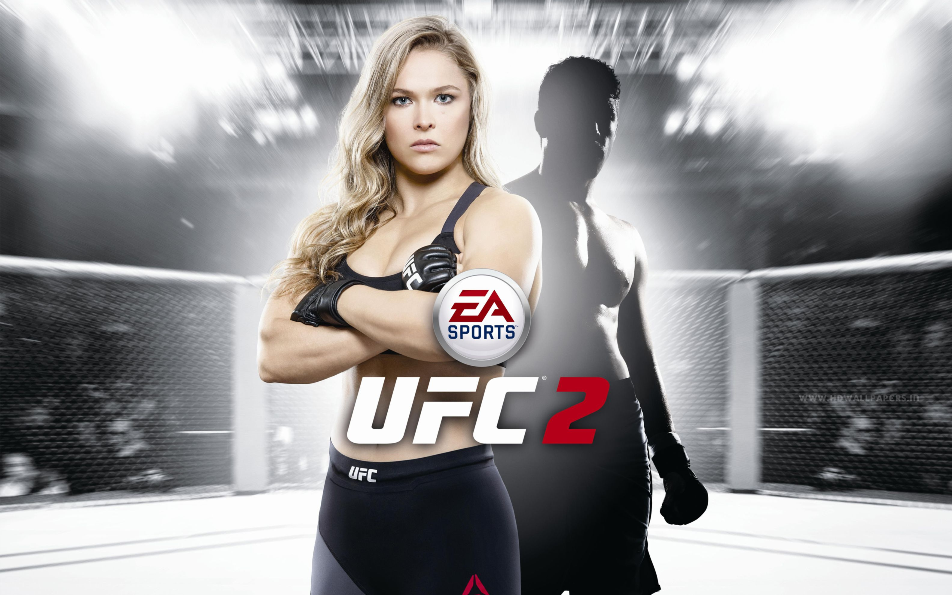 Download free HD Ea Sports UFC 2 Wide Wallpaper, image