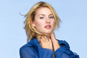 Download Elisha Cuthbert In Blue Wallpaper Free Wallpaper on dailyhdwallpaper.com