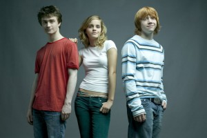 Emma Watson Daniel Radcliffe Harry Potter Cast Normal Wallpaper