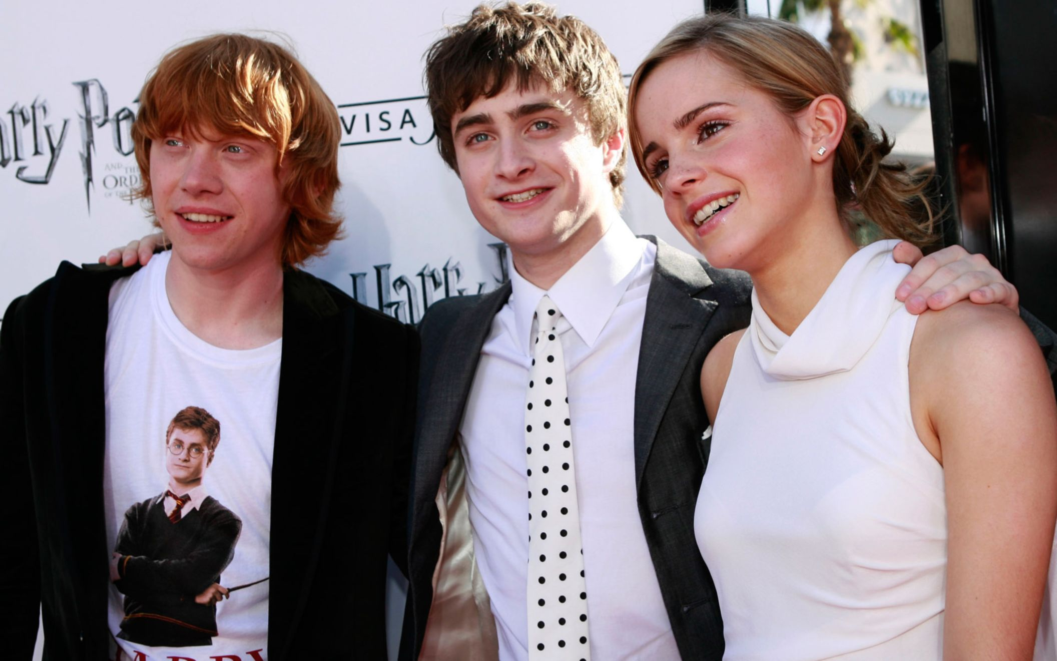 Download free HD Emma Watson With Daniel Radcliffe Wide Wallpaper, image