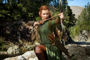 Download Evangeline Lilly as Tauriel in Hobbit Wide Wallpaper Free Wallpaper on dailyhdwallpaper.com