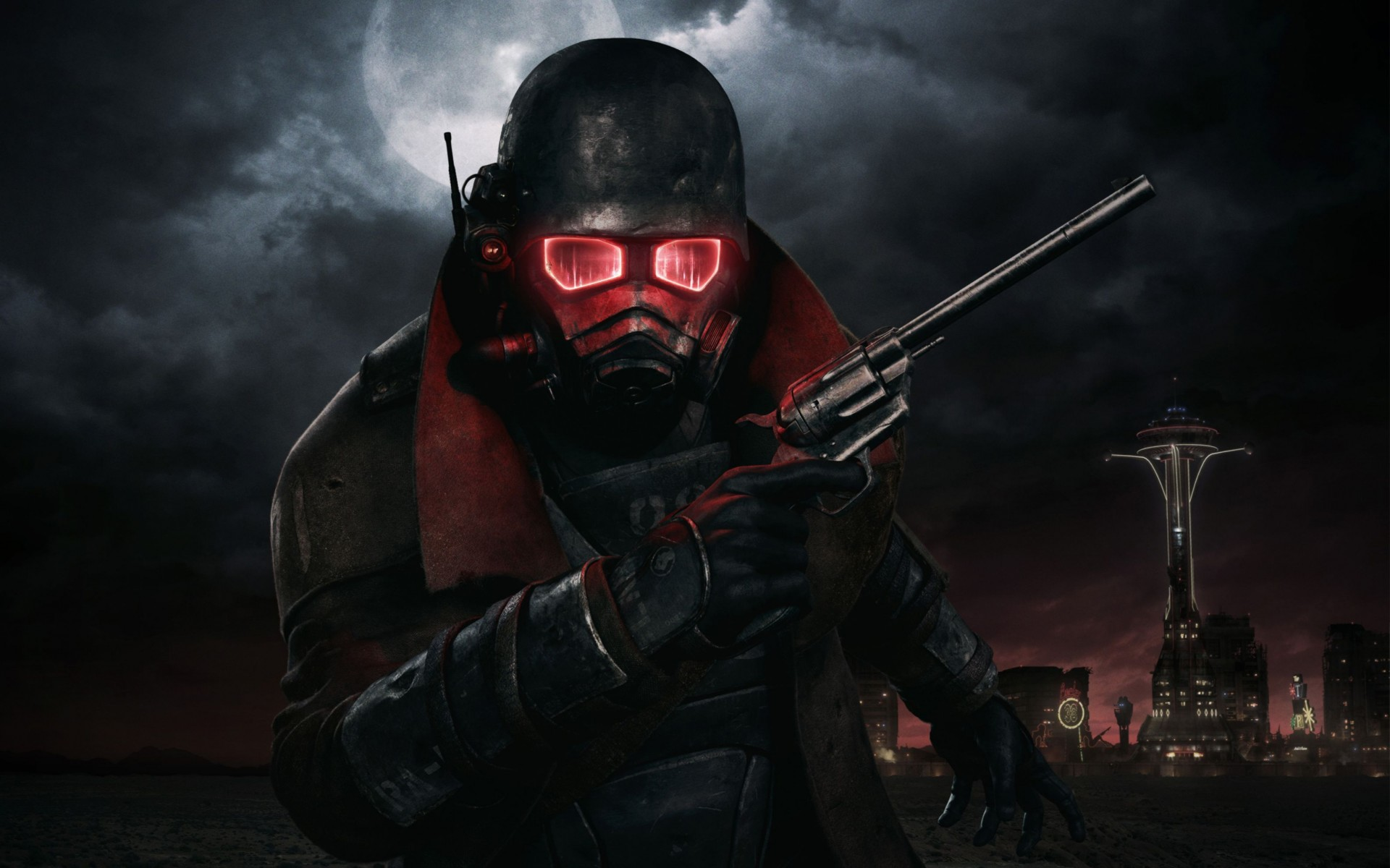 Fallout New Vegas Game Wide Wallpaper