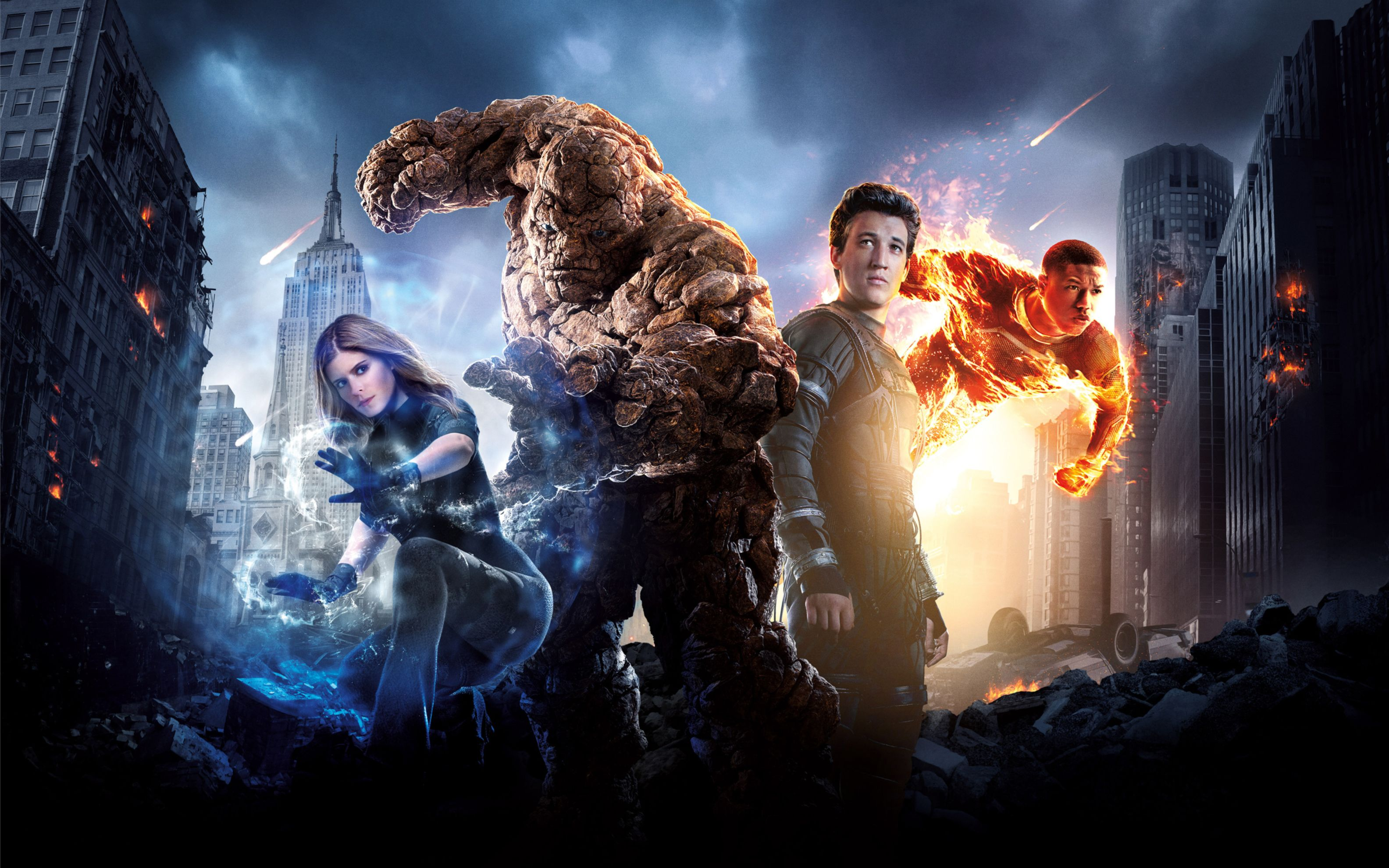 Download free HD Fantastic Four 2015 Wide Wallpaper, image