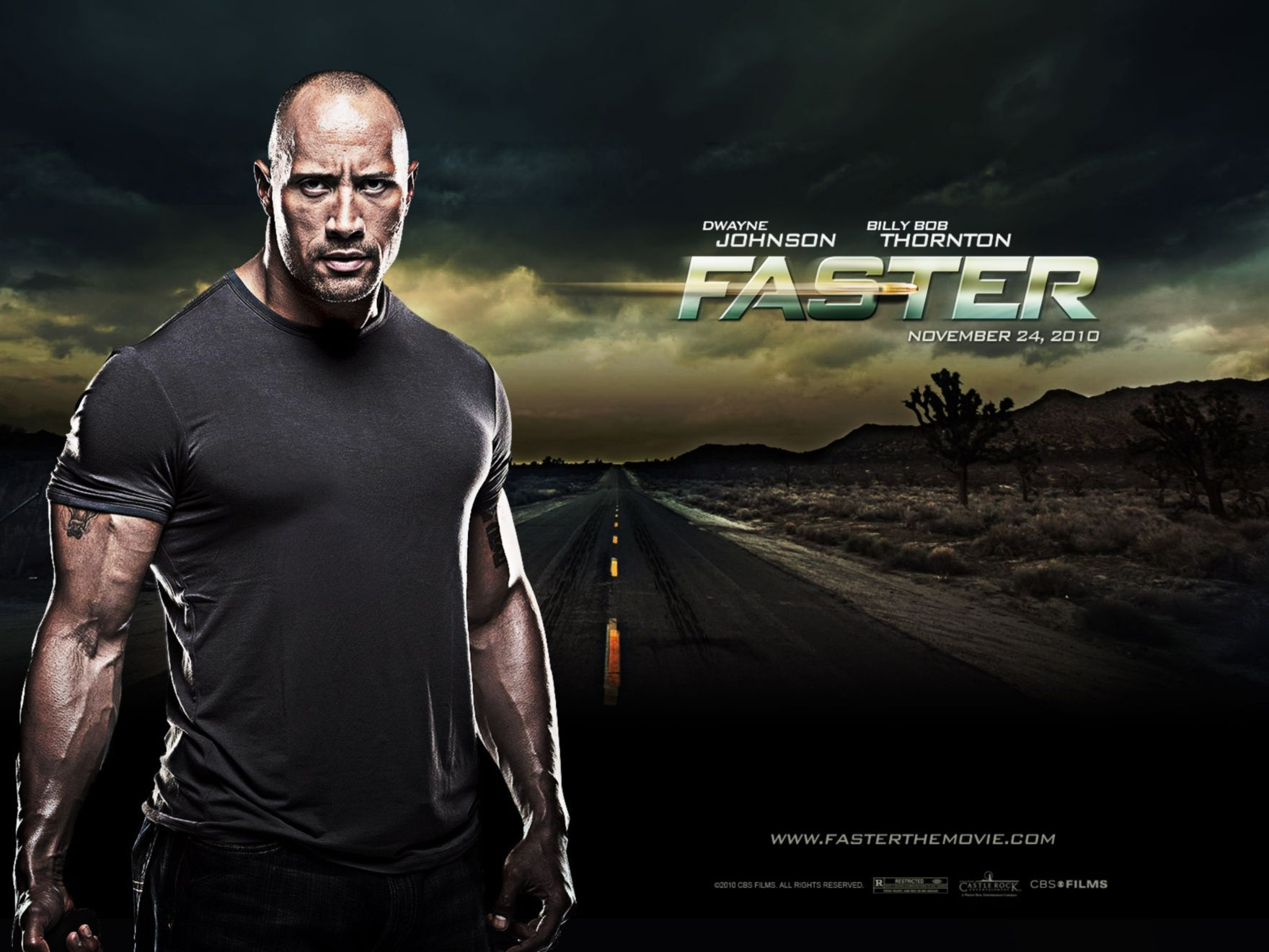 Download free HD Faster 2010 Movie Normal Wallpaper, image