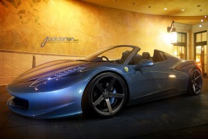 Ferrari 458 Spider Wide Wallpaper