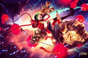 Download Firecracker Jinx League of Legends Wide Wallpaper Free Wallpaper on dailyhdwallpaper.com