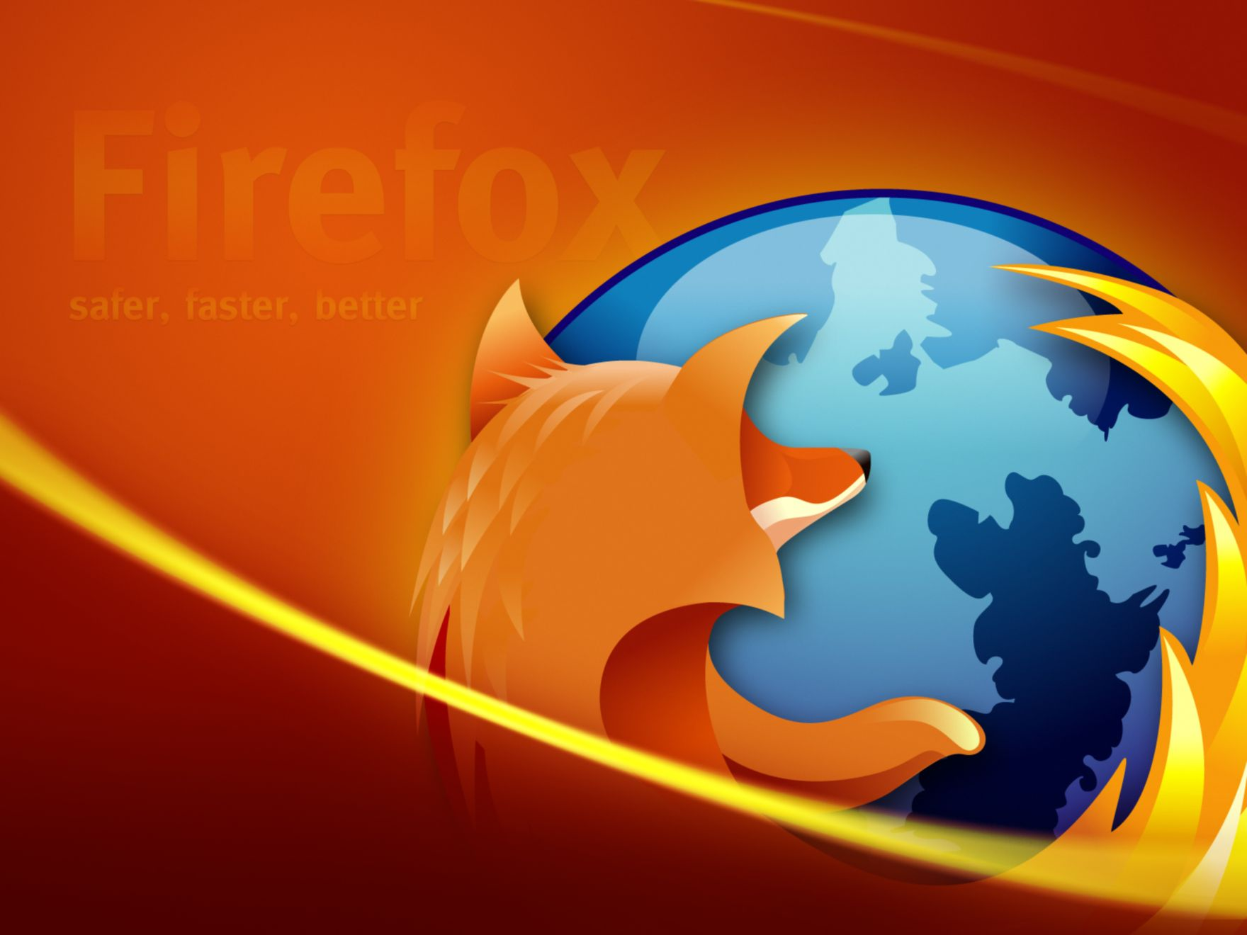 Download free HD Firefox Safer Better Faster Normal Wallpaper, image