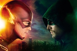 Download Flash Vs Arrow Wide Wallpaper Free Wallpaper on dailyhdwallpaper.com