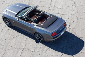Download Ford Mustang Gt 2015 Convertible Above View Free Wallpaper on dailyhdwallpaper.com