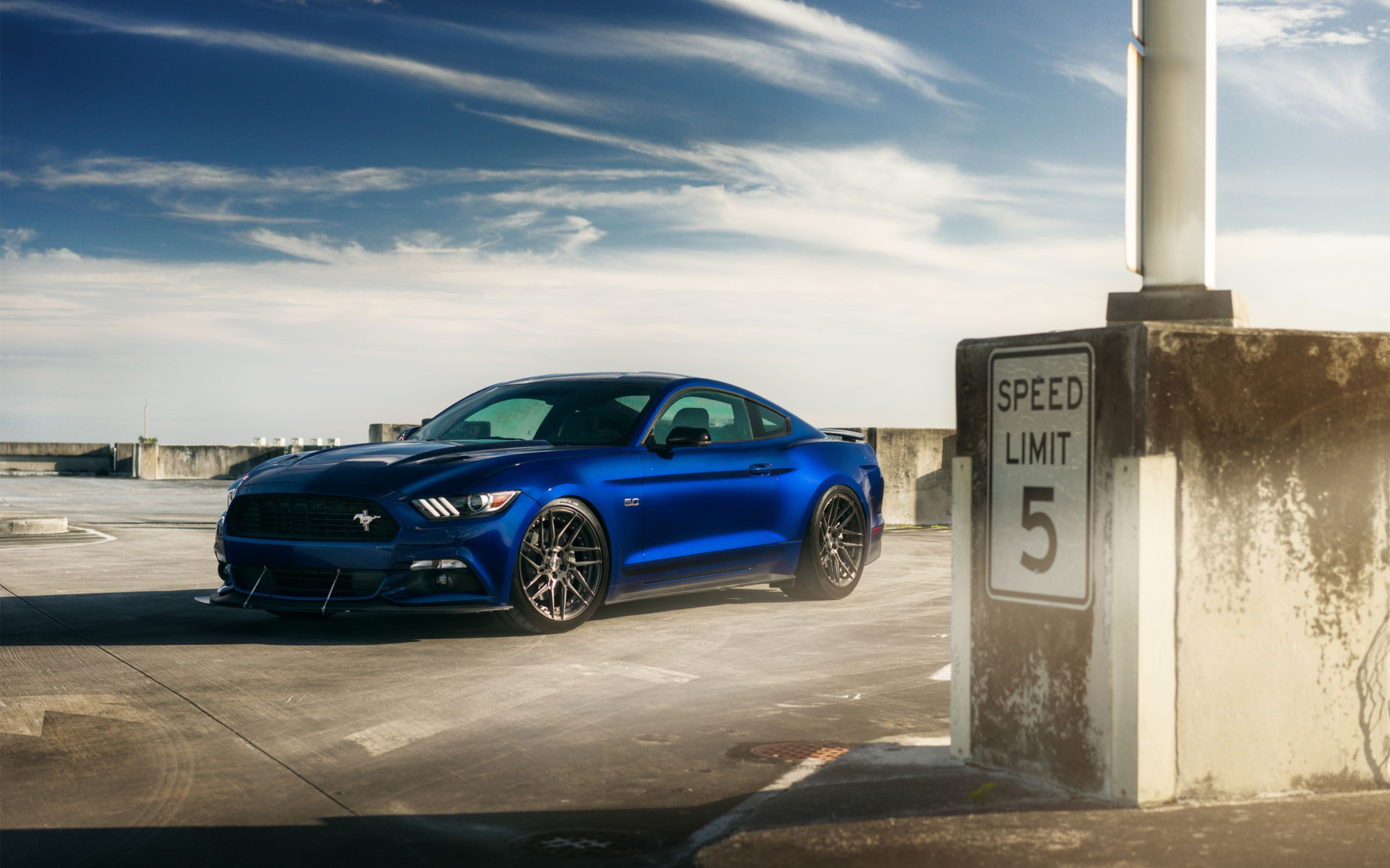 Download free HD Ford Mustang V8 Adv 1 Wheels Wide Wallpaper, image