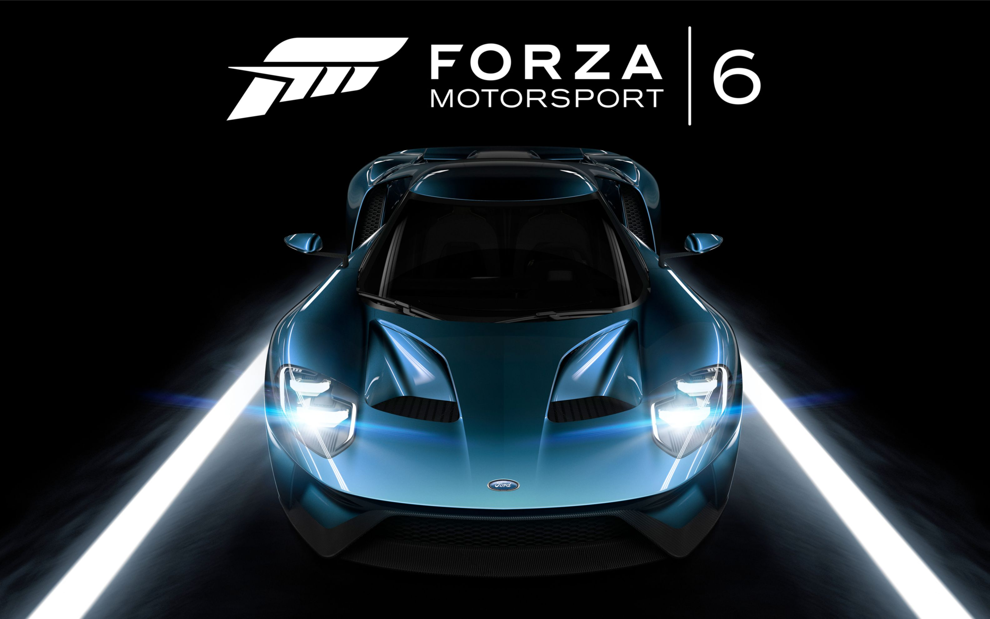 Download free HD Forza Motorsport 6 Ford GT Wide Wallpaper, image
