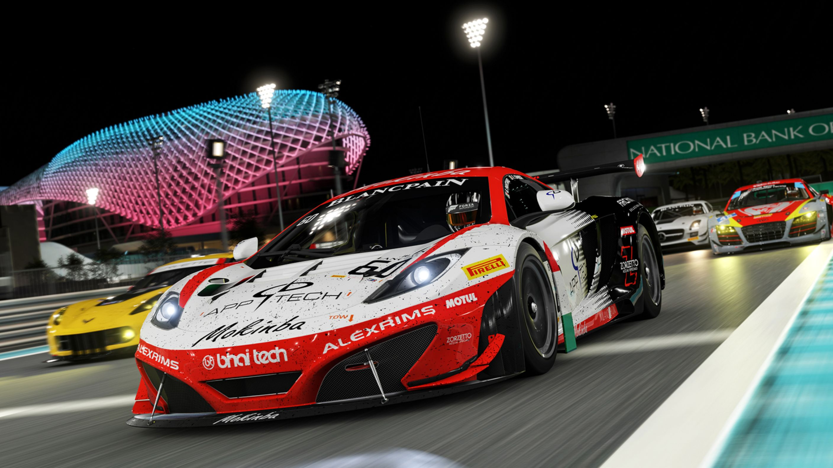 Download free HD Forza Motorsport 6 Night Race HD Wallpaper, image