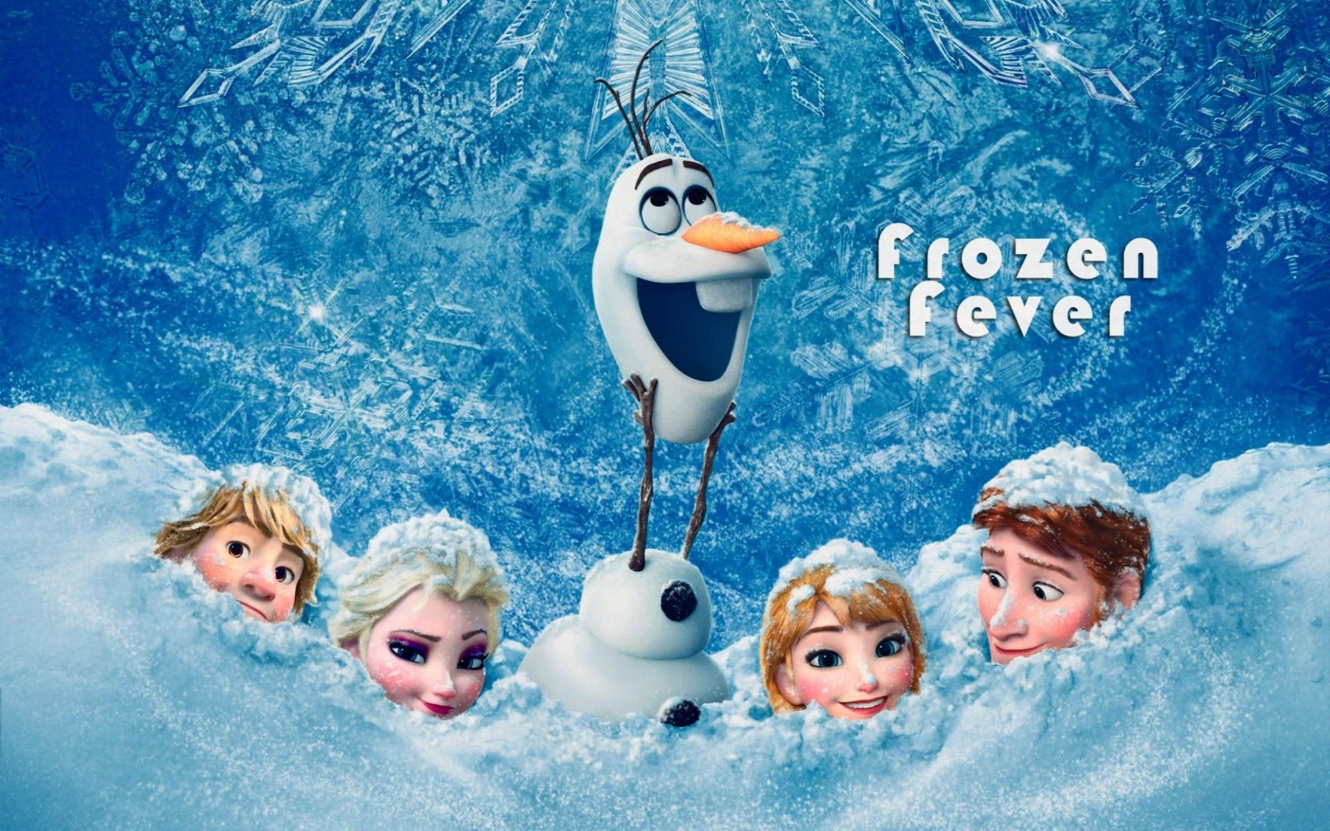 Frozen Fever Movie 2015 Wallpaper