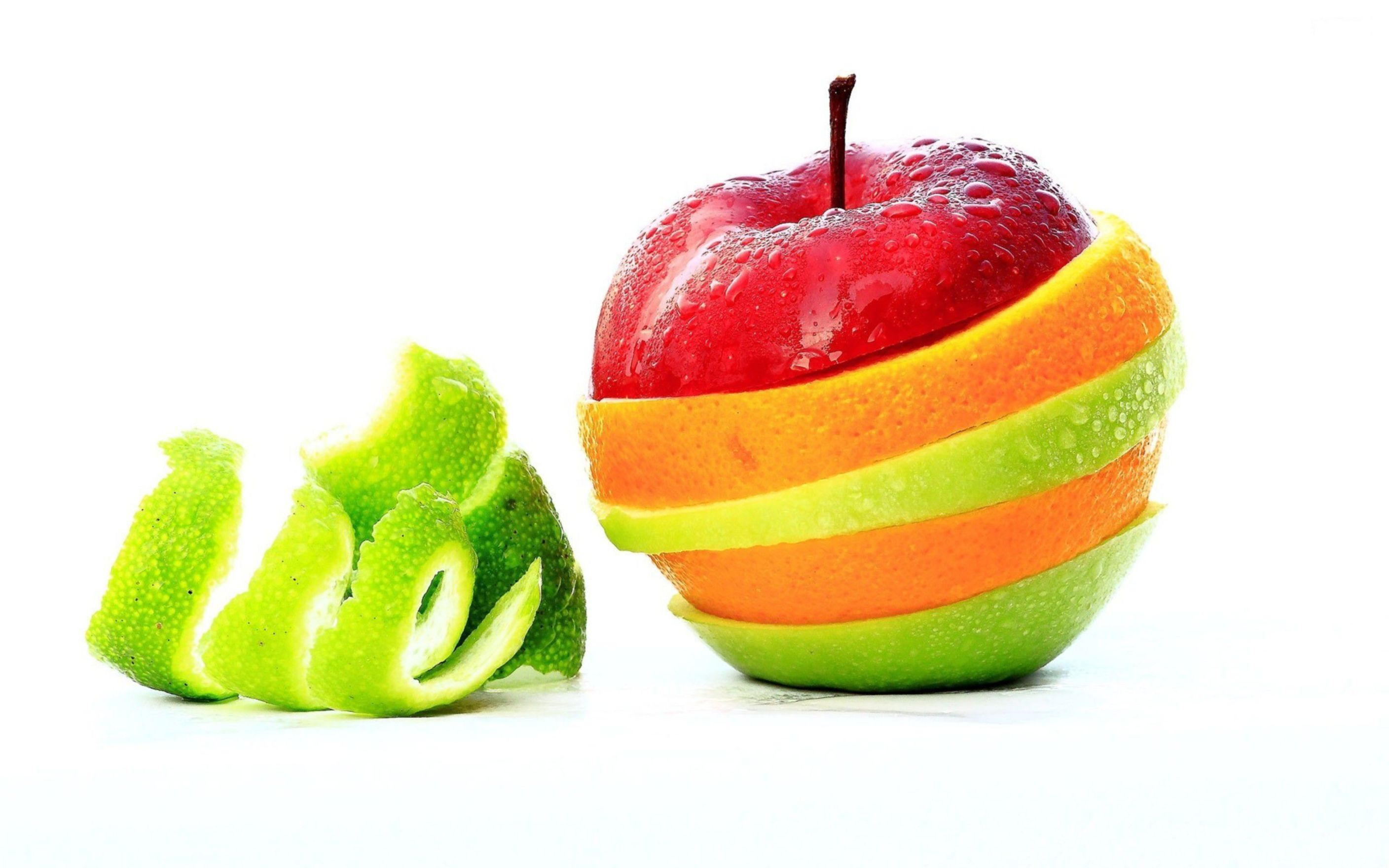 Download free HD Funny Fruit Apple Background Wallpaper, image