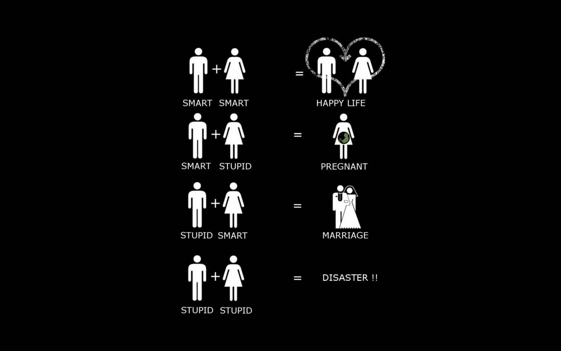 Funny Marriage Wallpaper