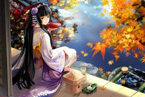 Download Geisha Anime Wide Wallpaper Free Wallpaper on dailyhdwallpaper.com