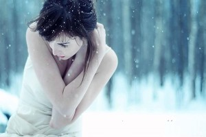 Girl In Winter  Wallpaper