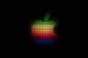 Glowing Lights Apple HD Wallpaper