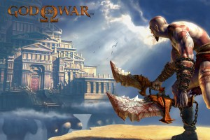 God of War 2 Game Wide Wallpaper