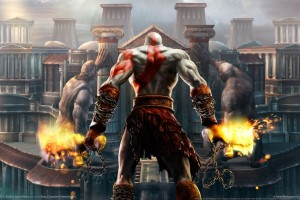 God of War 2 HD HD Wallpaper