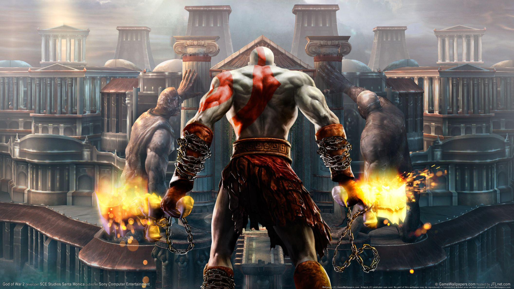 Download free HD God of War 2 HD HD Wallpaper, image