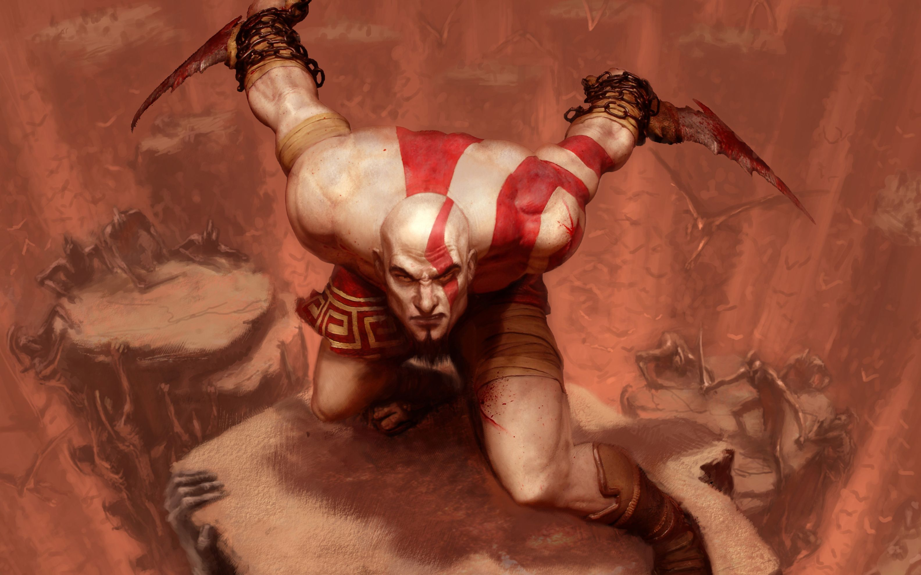Download free HD God of War Wide Wallpaper, image