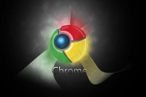 Google Chrome Widescreen Wallpaper