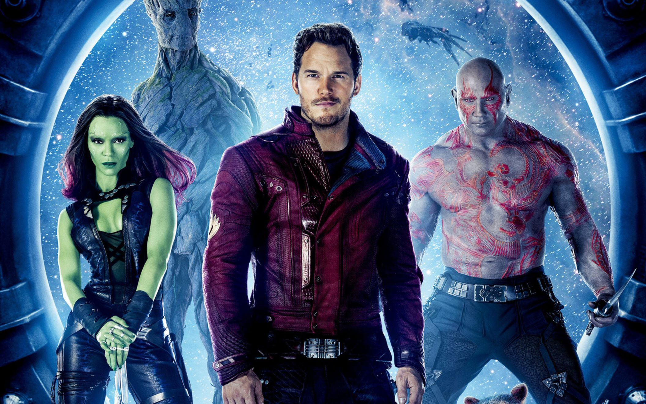 Download free HD Guardians of The Galaxy 2014 Movie Wide Wallpaper, image