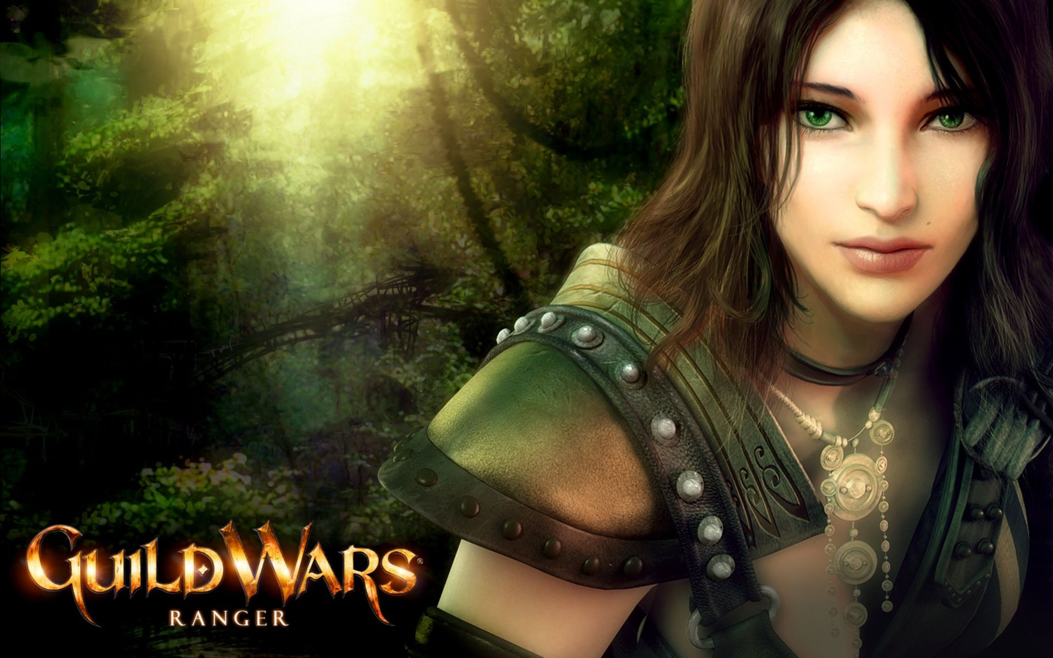 Download free HD Guildwars Ranger Wide Wallpaper, image