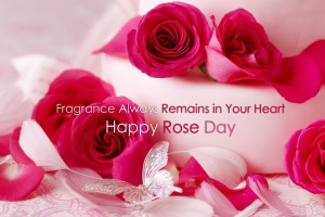 Download Happy Rose Day 2015 Red Rose With Love Quotes Wallpaper Free Wallpaper on dailyhdwallpaper.com