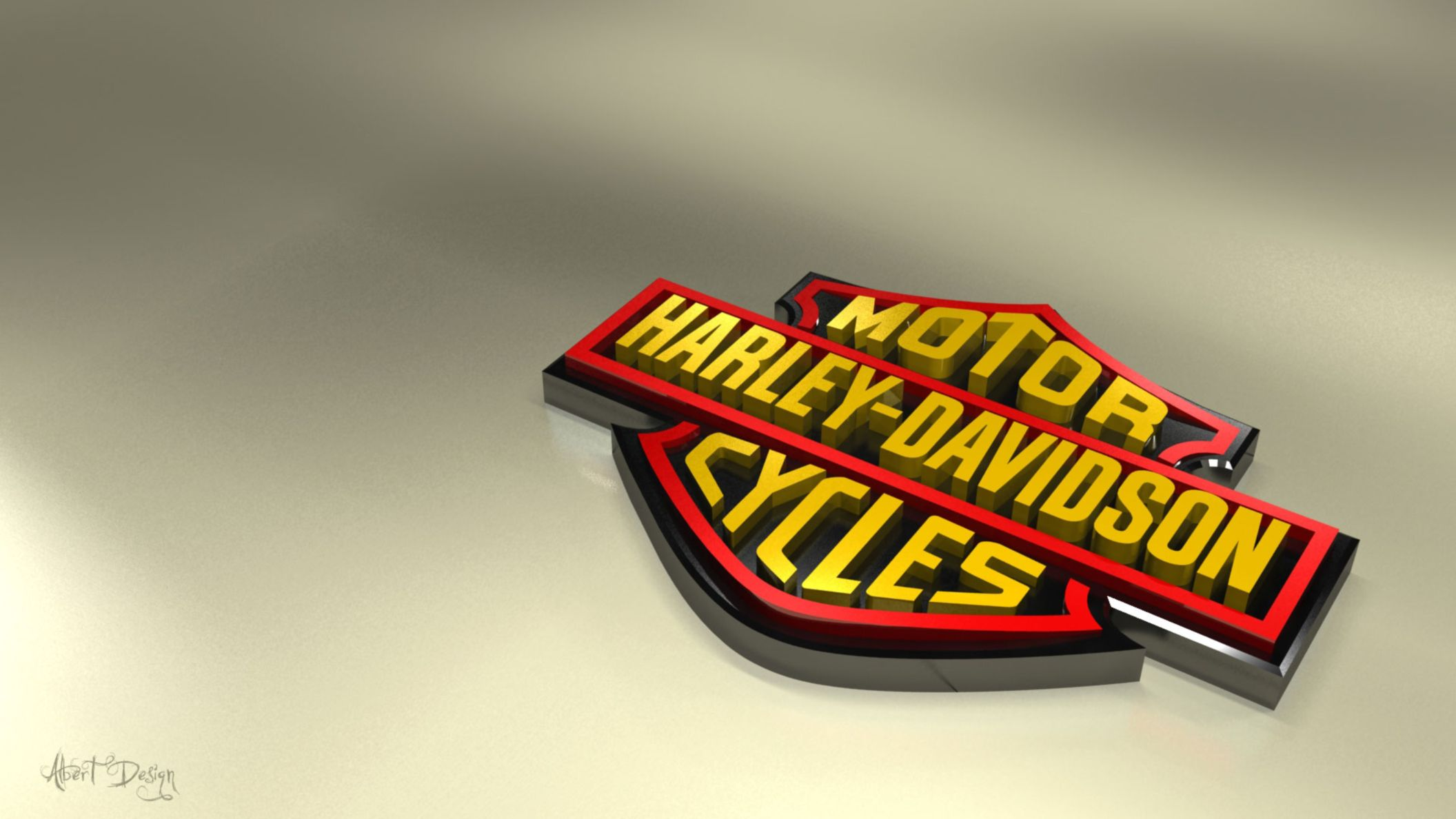 Download free HD Harley Logo Art Designs Wallpaper, image