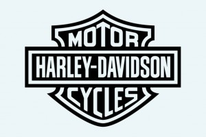 Harley Logo Vector Wallpaper