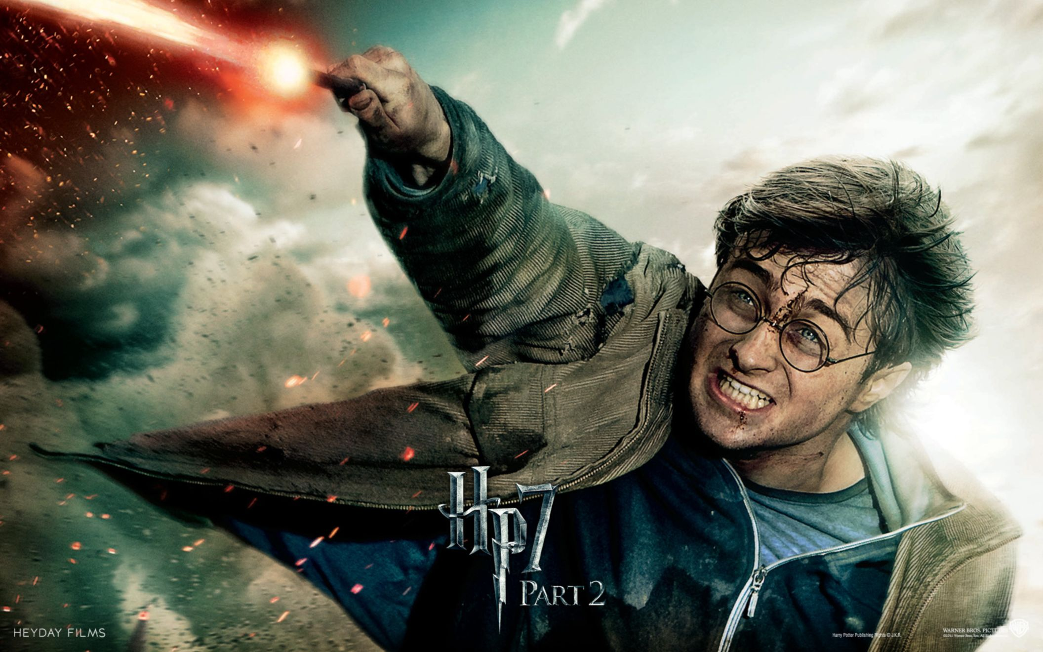 Download free HD Harry Potter in Deathly Hallows Part 2 Wide Wallpaper, image