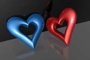 Heart 3d 1280x8001 Wallpaper