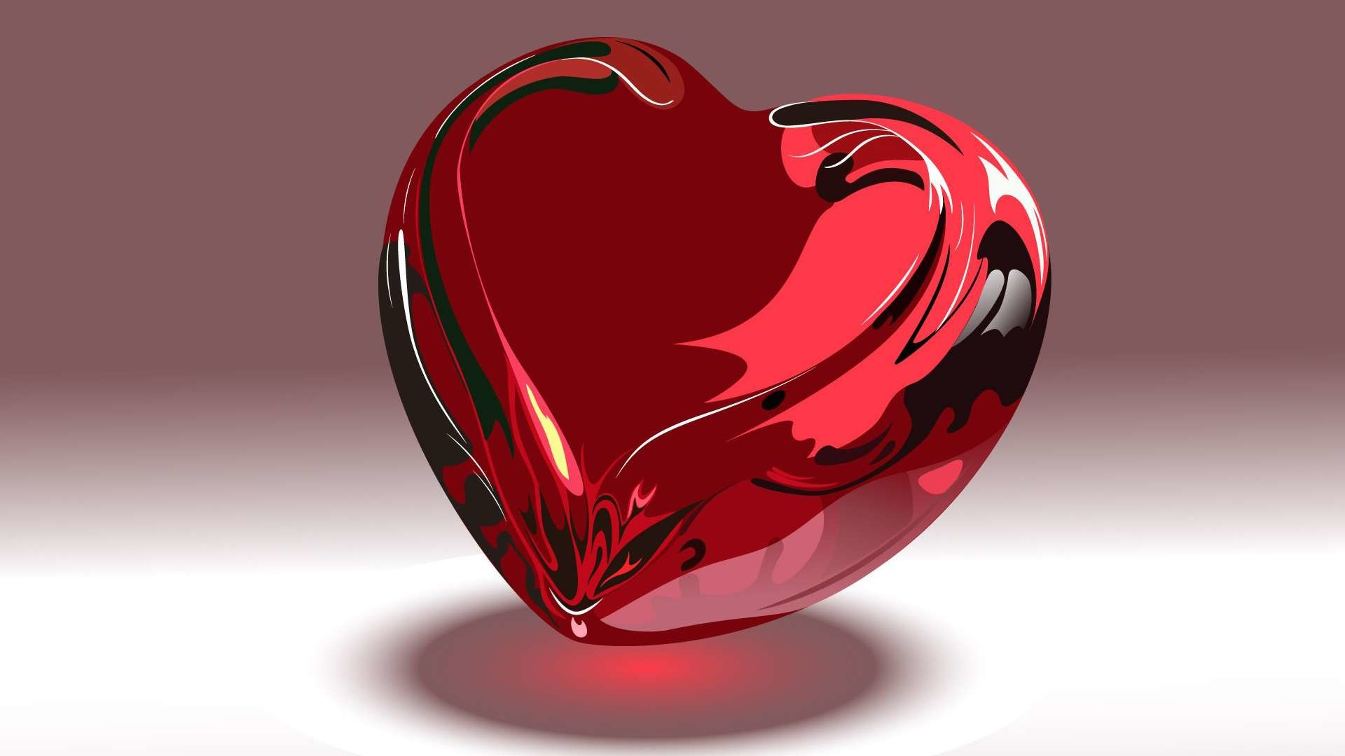 Heart 3D Wallpaper