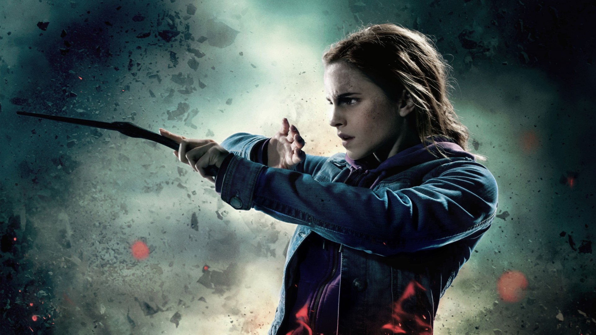 Hermione Harry Potter And The Deathly Hallows Part 2 HD Wallpaper