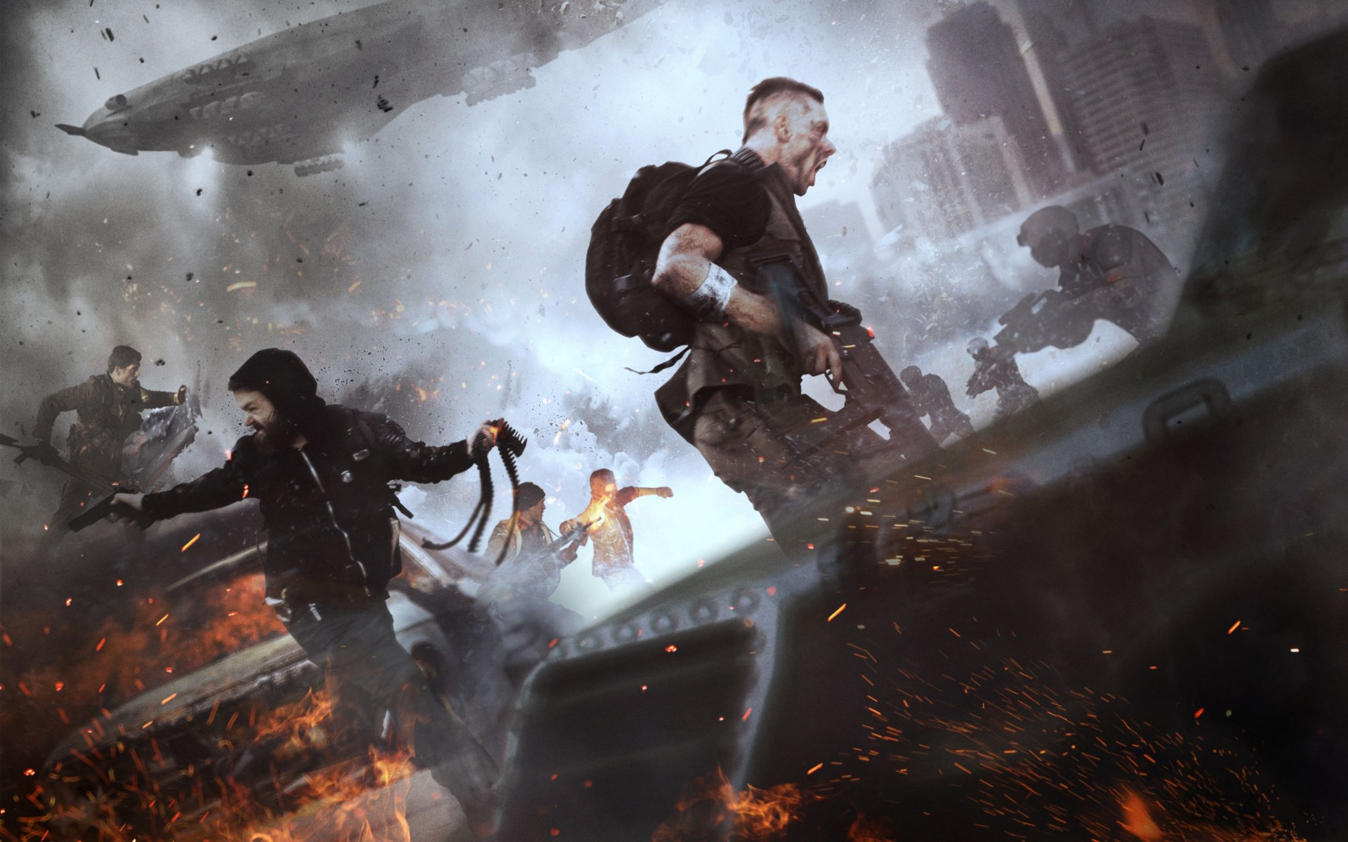 Homefront The Revolution 2016 Game Wide Wallpaper