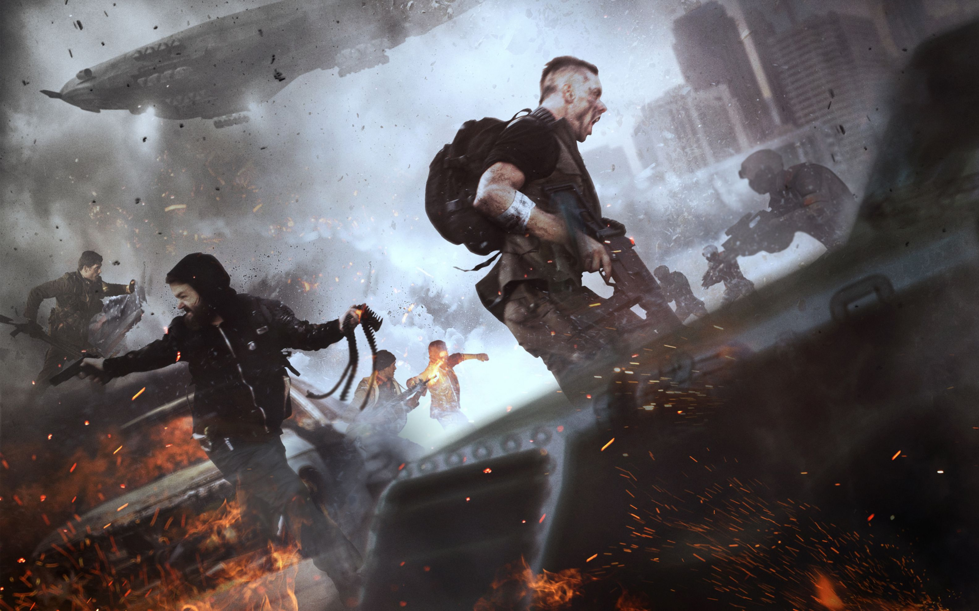 Download free HD Homefront The Revolution 2016 Game Wide Wallpaper, image