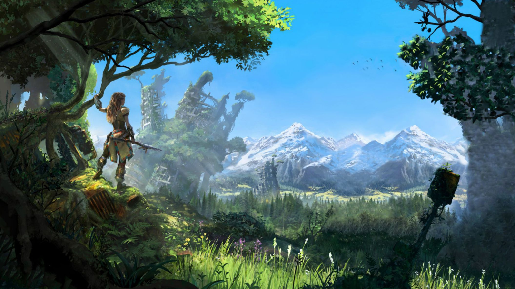 Download free HD Horizon Zero Dawn 2016 Game HD Wallpaper, image