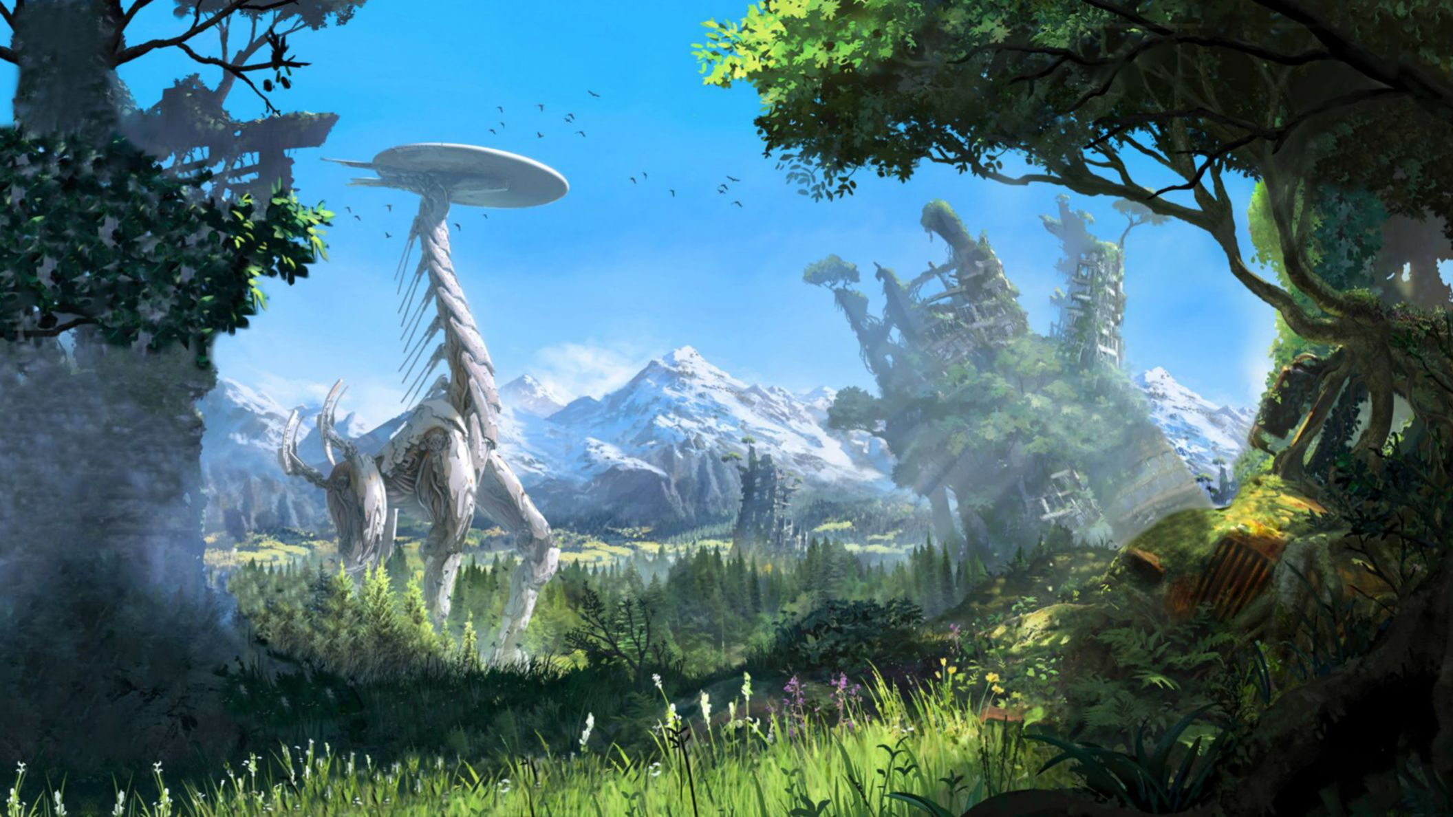 Download free HD Horizon Zero Dawn E3 2015 HD Wallpaper, image