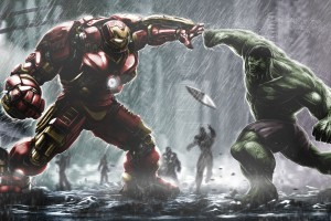 Download Hulkbuster Ironman Vs Hulk HD Wallpaper Free Wallpaper on dailyhdwallpaper.com