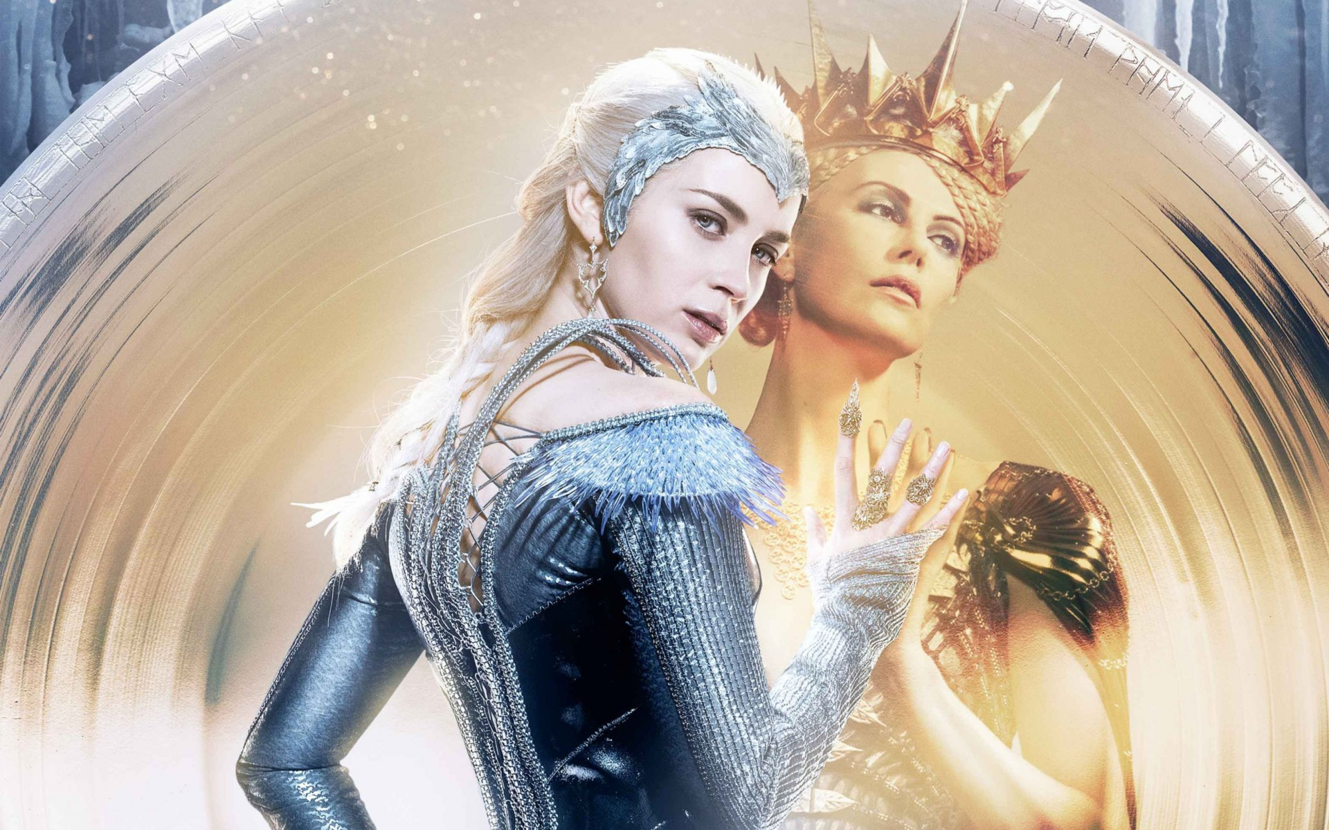Ice Queen Evil Queen Wide Wallpaper